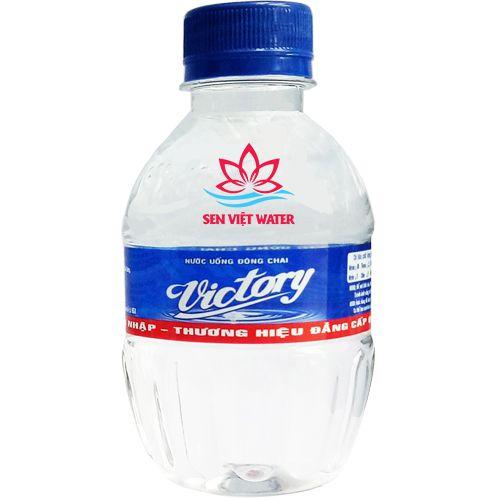 nước uống đóng chai victory 250ml